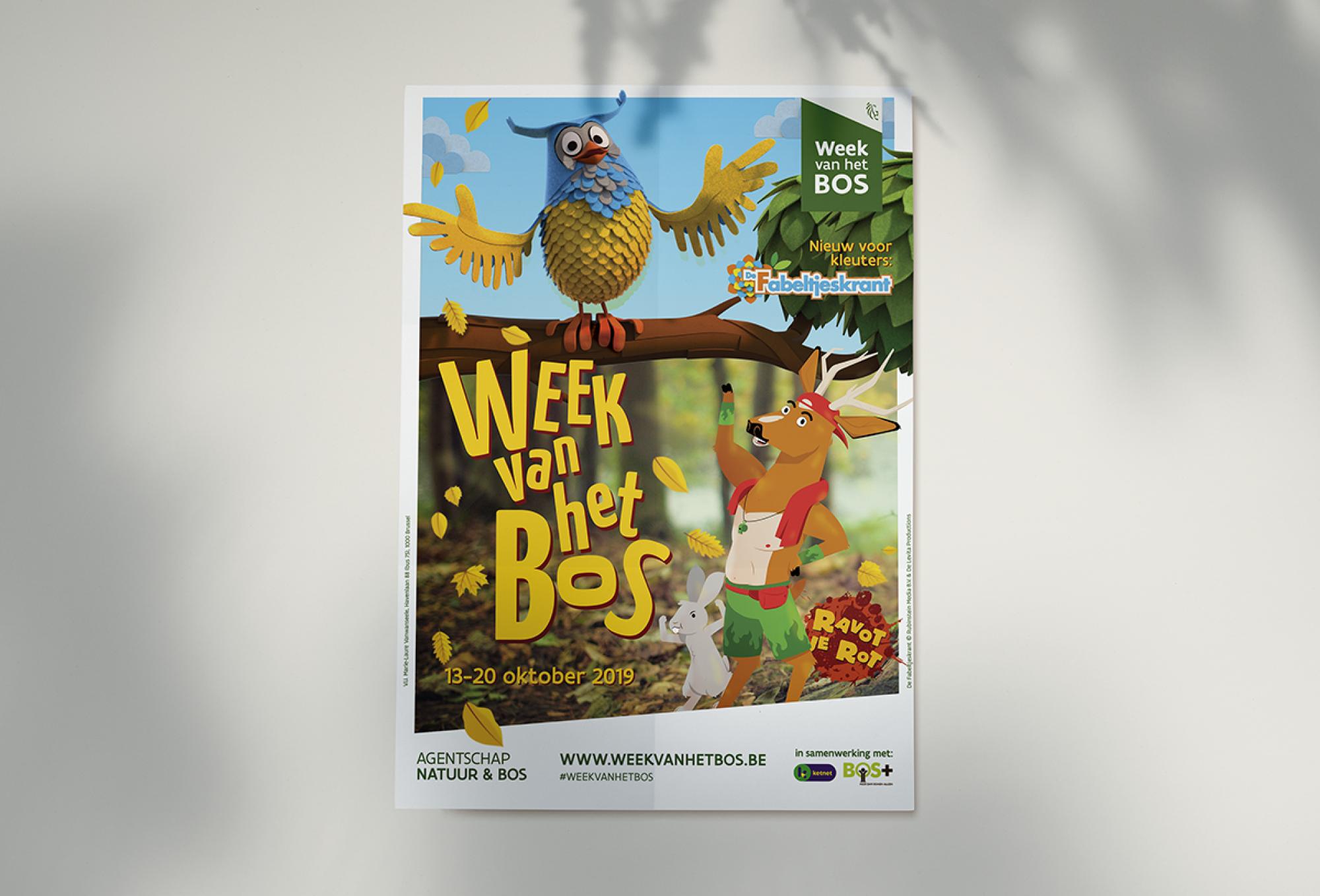 Week van het Bos - Fabeltjeskrant